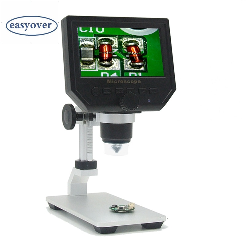 600X Digital Mikroskop 3.6MP HD Handy Elektronische Video Mikroskop Kamera Pcb Löten Reparatur Lupe Al-legierung Stent