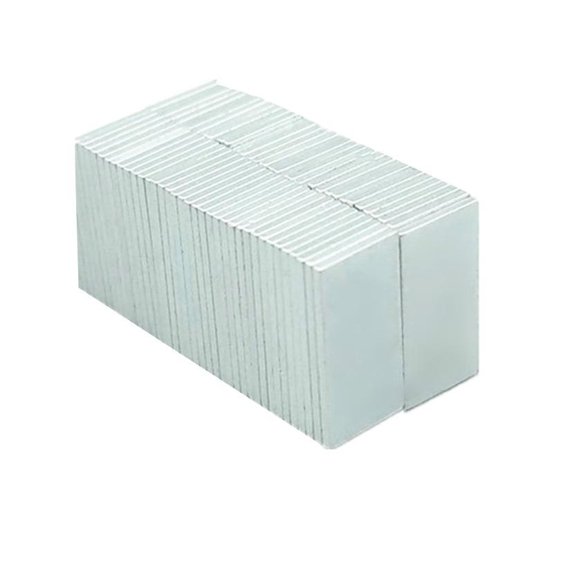 1 bloco de ímã n38eh ndfeb 10x5x0.6mm r1.11 de alta temperatura. Ímãs permanentes magnetizados da terra rara do neodímio forte