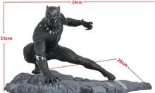 Los vengadores de Marvel infinito guerra Pantera negro figura de PVC figura juguete modelo coleccionable Pantera estatua 12cm