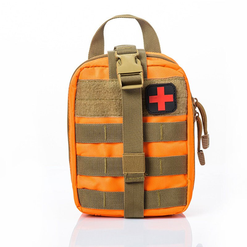 Moda mujer pequeña bolsa médica de viaje Kit de primeros auxilios supervivencia portátil táctica emergencia Primeros Auxilios Kit militar