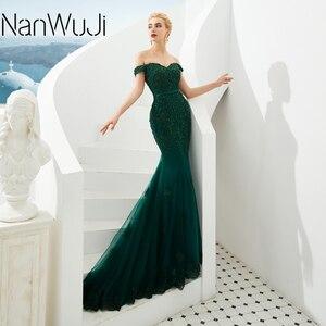 Sweetheart Long Dress Mermaid Evening Dress 2019 Lace Robe De Soiree longue Formal Dress abiye gece elbisesi