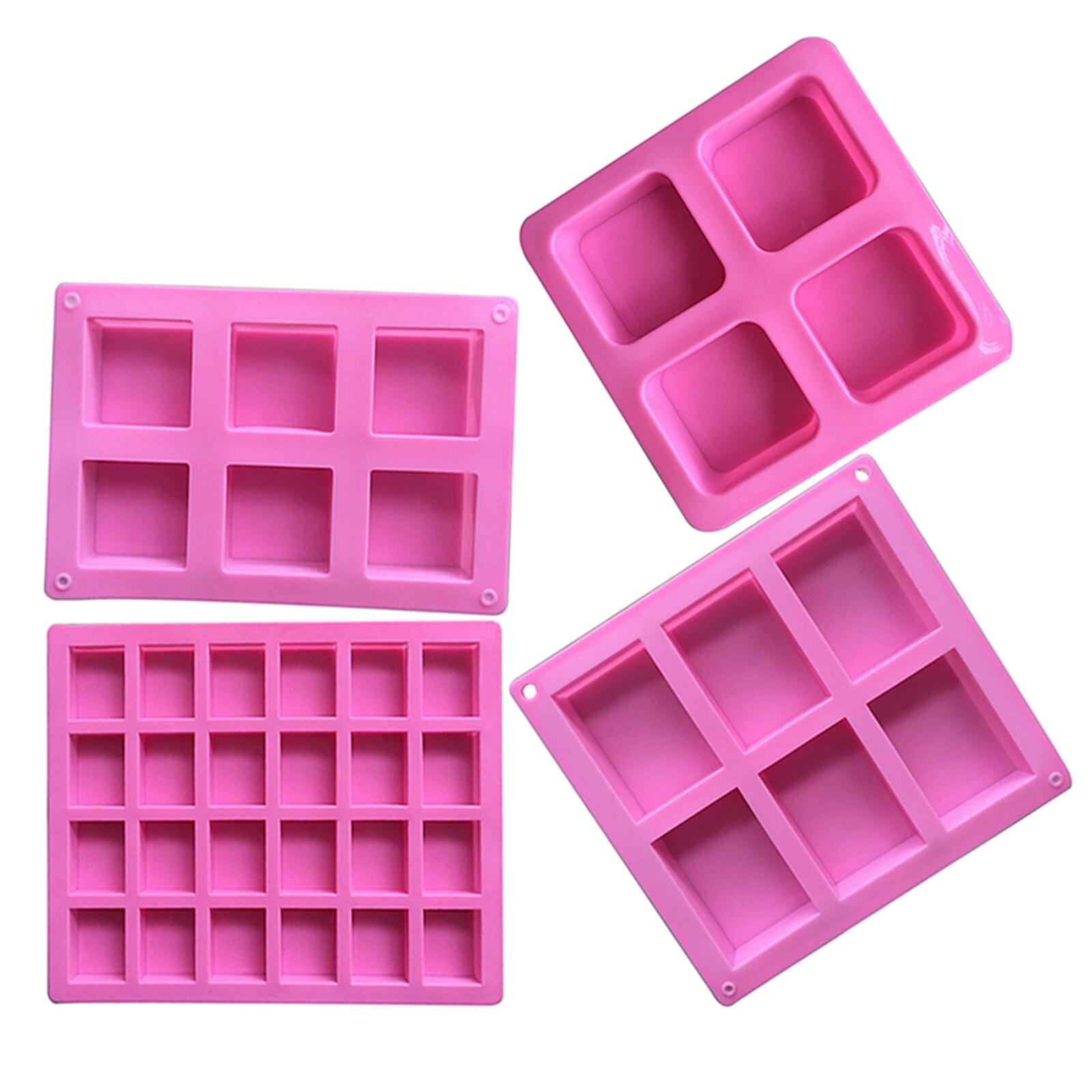 5 forma nova qualidade molde de silicone cubo de gelo doces bolo de chocolate biscoito cupcake sabão quadrado molde cozimento acessórios da cozinha