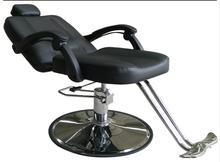 Chaise de coiffeur chaise de coiffure. Chaise de salon de coiffure coupée