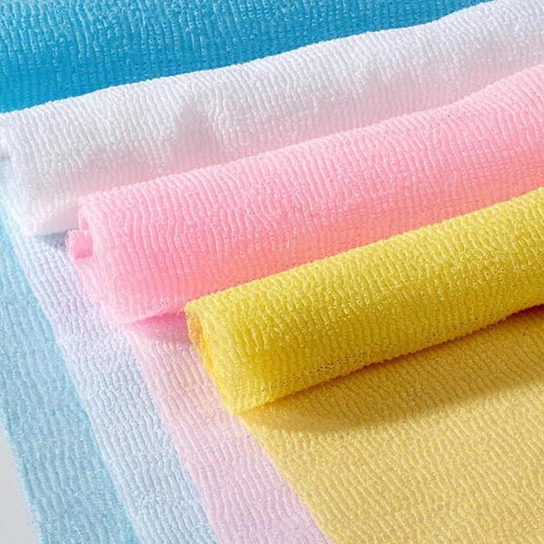 Best Nylon Scrubbing Cloth Towel Bath Shower Body Cleaning Washing Sponges Scrubbers Bathroom Tool
