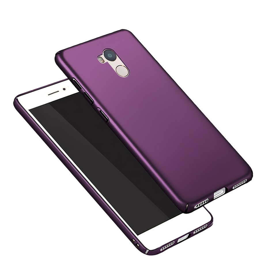 Para Xiaomi Redmi 4 Pro funda Xiaomi Redmi 4 cubierta de PC de plástico mate duro para Xiomi Redmi4 Pro Prime phone Case capa 5,0