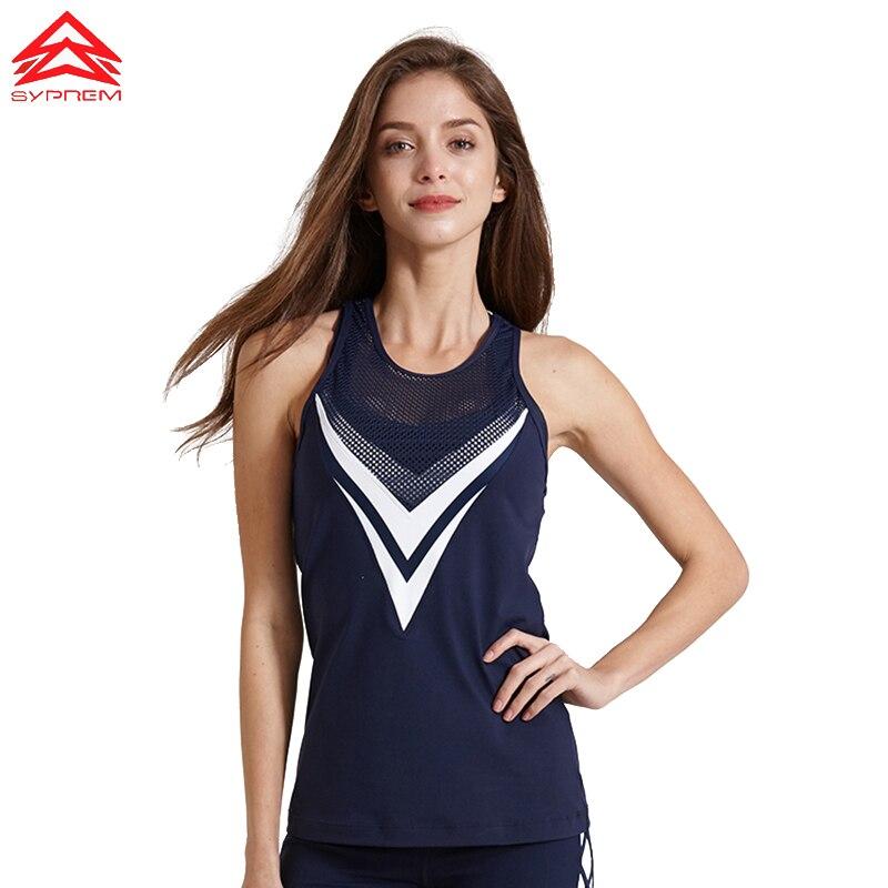 Syprem, camiseta para correr para mujer, camiseta profesional de secado rápido, Camiseta deportiva para entrenamiento activo, camiseta para Yoga, gimnasio, Jogging, 1 ft1068