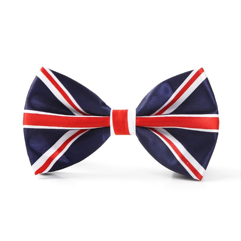 Fliege für Männer Mode England Flagge herren Smoking Partei krawatten Schmetterling knoten Formale Kleid Geschenk Hochzeit Shirts Krawatte business