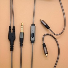 Remplacement amélioré pour X3 Irock A8 VJJB N1 écouteurs câbles de casque cordon avec micro contrôle du Volume pour xiaomi iphone mp3