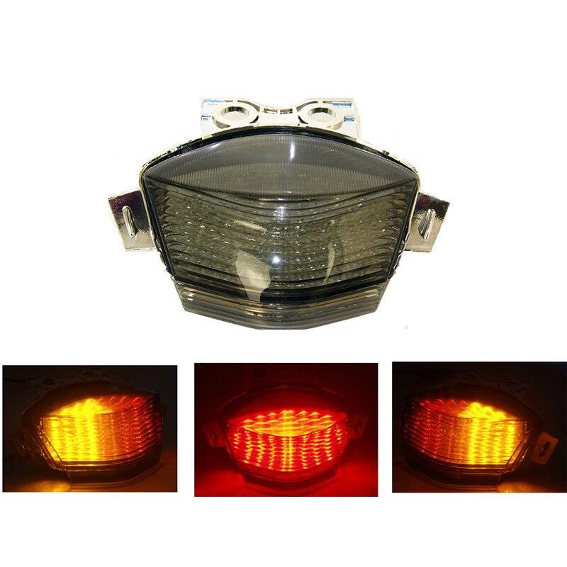 Waase لكاواساكي نينجا 650R EX650 ER6N ER6F ER 6N 6F 2006 2007 2008 الذيل ضوء الفرامل بدوره إشارات مصباح ليد متكامل