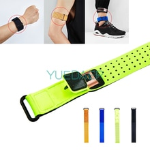 YUEDAER Sports Portable dragonne pour Xiao mi bande 3 4 pieds brassard sangle pour Fitbit Charge 2 3 bande pour Honor Band 5 4 3 2
