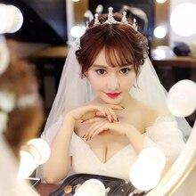 Diadème de mariage fille cristal strass mariée perle diadème bijoux mariée perlée bandeaux bandeau décoration Quinceanera couronne