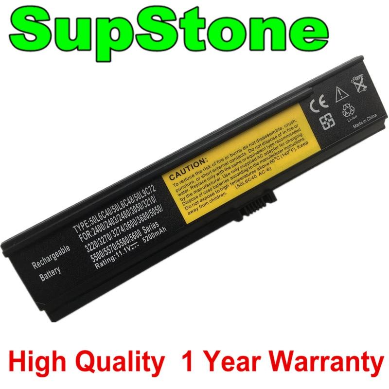 SupStone-batería 50L6C40 50L6C48 para Acer, Aspire, 2400, 2403, 2480, 3050, 3210, 3220,...