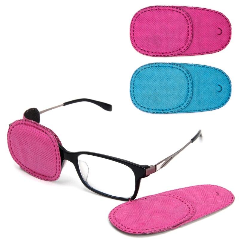 HUAMIANLI, 6 uds., parches de ojo de ambliopía, telas no tejidas, para niños, para el tratamiento de gafas de Strabismus, Kit de nueva moda