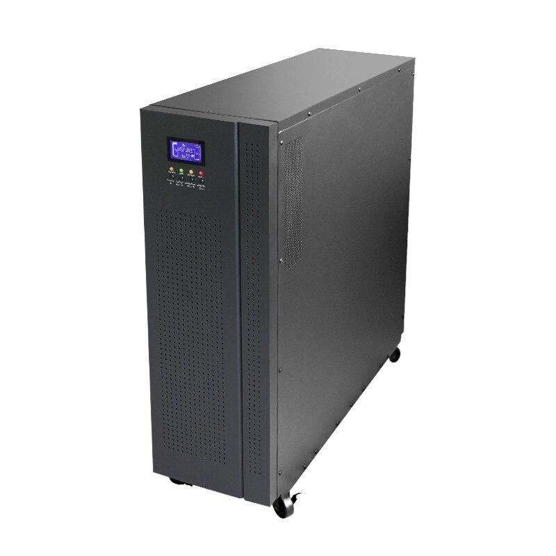 En línea UPS 3 fases 10KVA 192VDC batería externa de alta frecuencia onda sinusoidal pura 3 fases en A 3 Fuente de alimentación ininterrumpida
