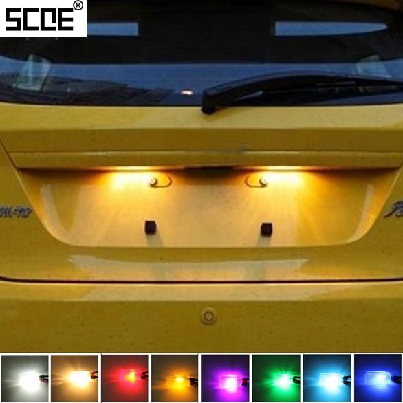 Para Ford Street KA Tourneo, conectar tránsito, conectar tránsito, IISCOE 20152X6SMD 5050LED, fuente de luz de matrícula, decoración de coche