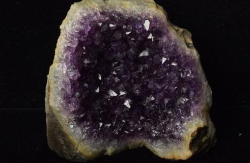 Geoda de grupo de cristal hermosa amatista de Venta profesional de Argentina