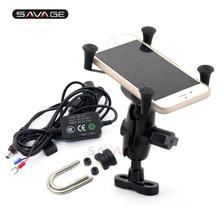 Support x-grip pour chargeur USB de téléphone   Pour DUCATI Diavel XDiavel brouteur Streetfighter 848/1100 support de Navigation GPS de moto
