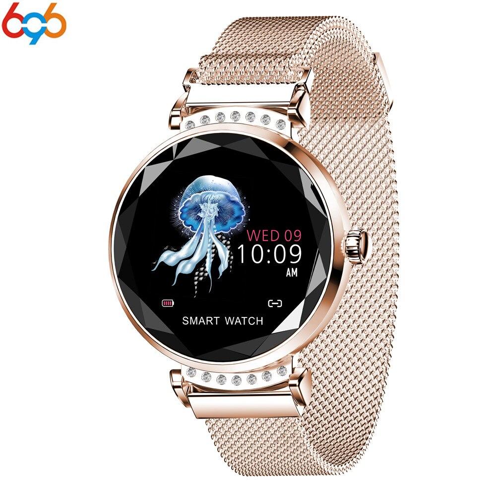 Reloj inteligente T88 a la última moda, pulsera PK S3 para mujer, con cristal de diamante, ritmo cardíaco, presión arterial, Monitor de sueño, regalo