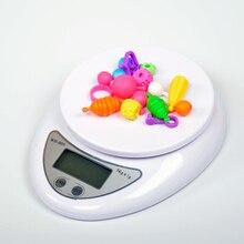Mini Digital Waage 1g 0,1g Gewicht Elektronische LED Digital Küche Waagen 5kg/1kg Tragbare Post lebensmittel Schmuck Balance Mess