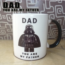 Tasse à couleur changeante de Star Wars-papa   Livraison directe, mignon, Star Wars-papa, Youm my DAD, tasses à café magique et légère