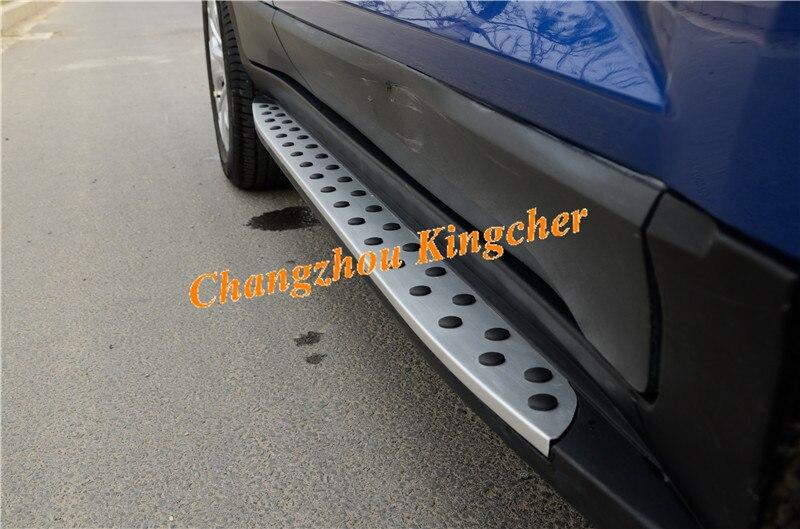 Barra de aluminio de alta calidad estribo lateral Nerf compatible con Ford EcoSport 2014-2020