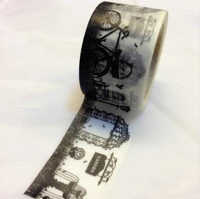 Beautiful high quality 30mm*10m halloween  washi  tape/secret   garden  diy and masking japan washi tape