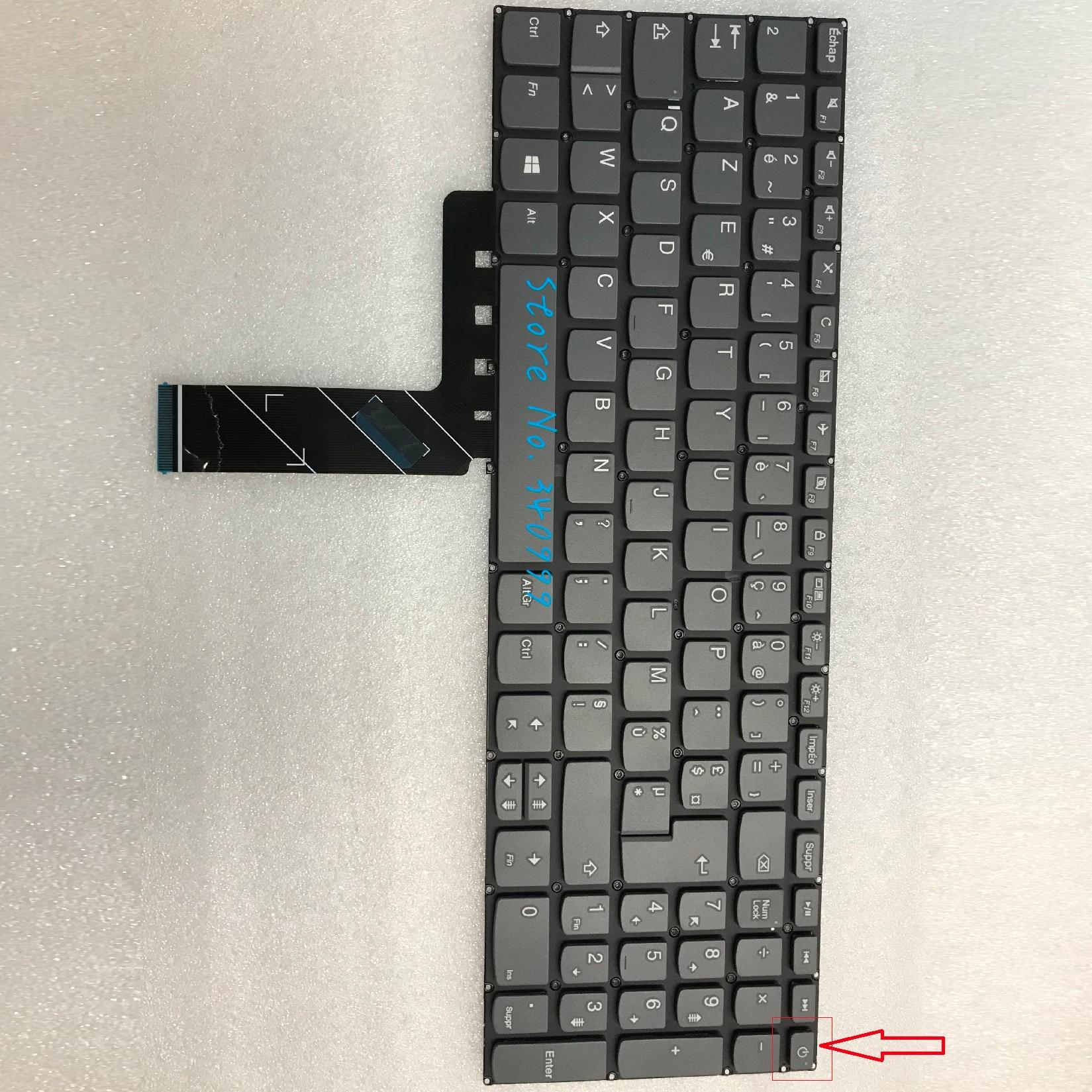 جديد AZERTY الفرنسية لوحة المفاتيح لينوفو IdeaPad L340-15 L340-15API L340-15IWL L340-17API L340-17IWL كلافيير