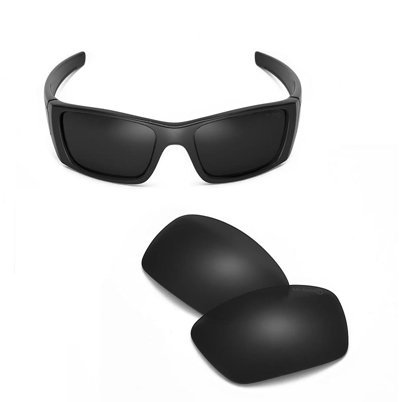 Walleva Mr. Shield lentes de repuesto polarizados de alto grado para gafas de sol de Celda de Combustible de roble 1 color disponible
