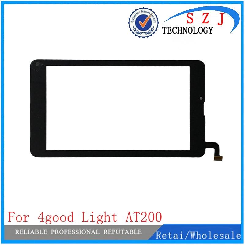 Nueva pantalla táctil de 7 pulgadas para 4 buena luz at200 tablet ordenador multi táctil capacitivo panel de escritura envío gratis 10 piezas