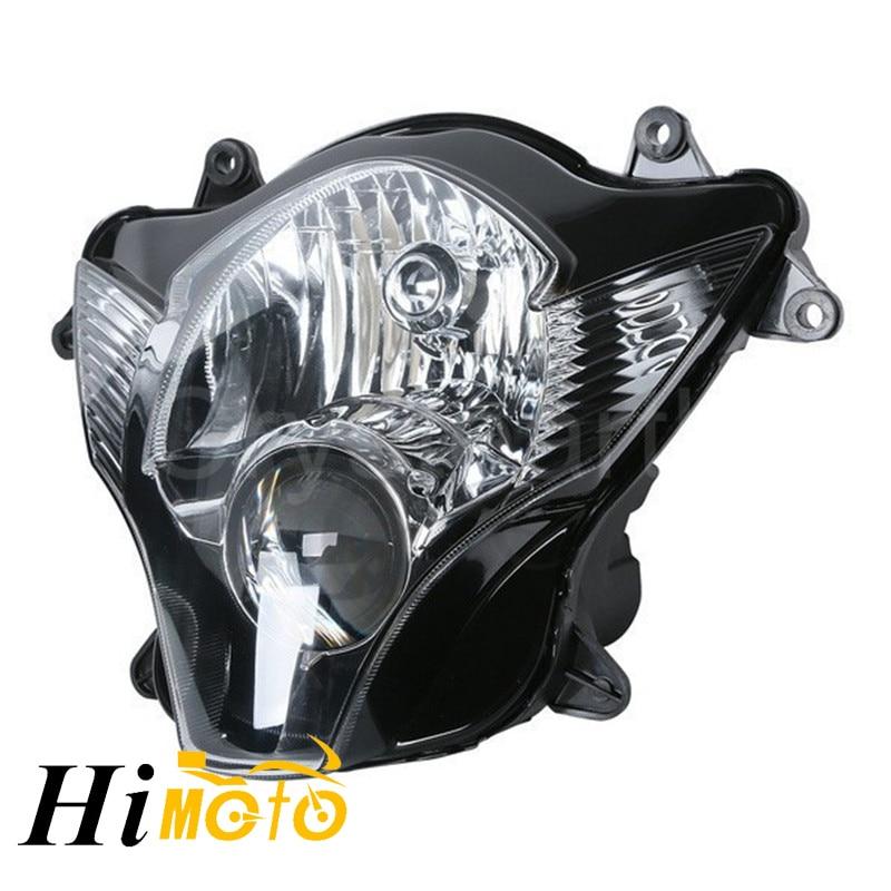 Сменный передний свет для мотоцикла, передний свет, передний свет, фара в сборе, комплект корпуса для SUZUKI GSXR600 GSXR750 GSX-R600 2006 2007 K6