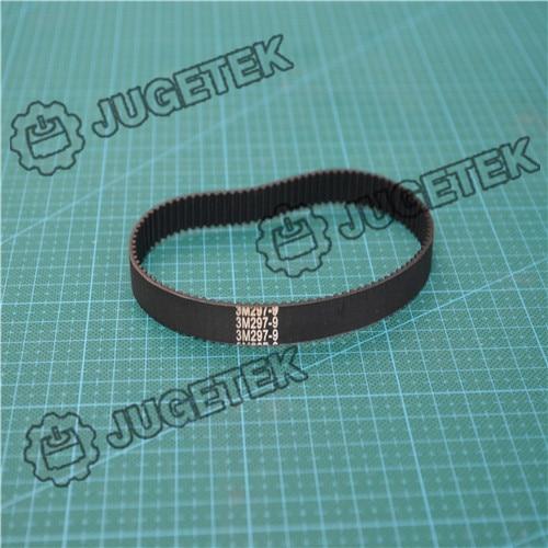 htd3m timing belt closed loop 297mm length 99 teeth 6mm width HTD3M Timing Belt Closed-loop 297mm length 99 teeth 6mm width