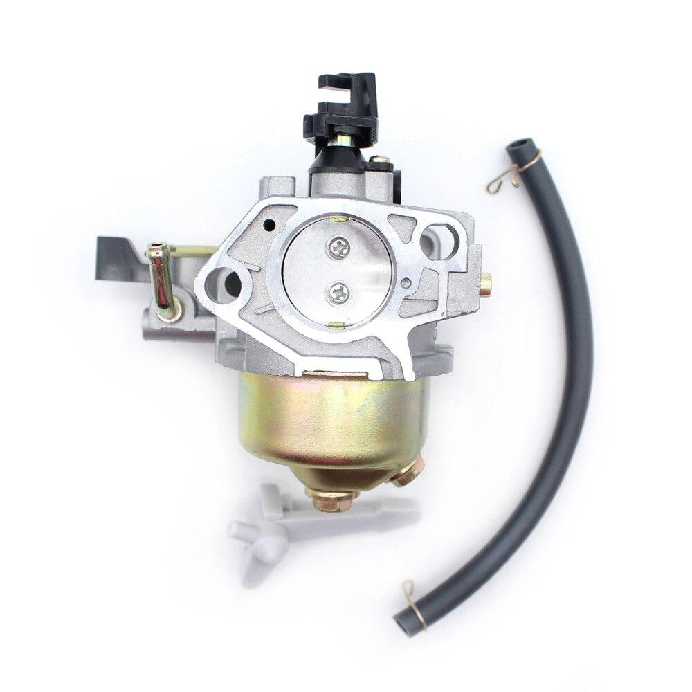 Manguera de combustible de carburador ajustable para HONDA GX390 GX 390, generador de Motor chino 188F 190F 11HP 13HP, bomba de agua para cortacésped