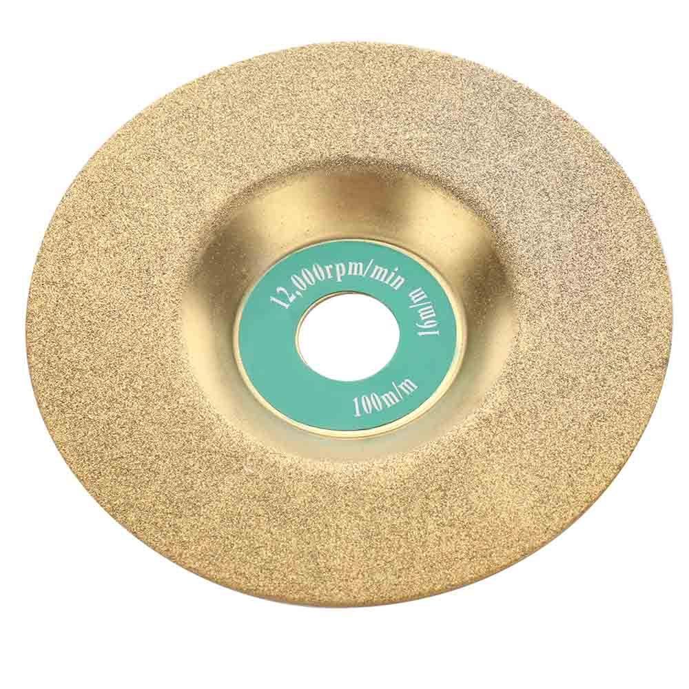 16mm Diamond Grinding Disc Wheel Glass Emery Milling Cutter Circle Grinder Stone Sharpener Angle Cutting Wheel Rotary Tool