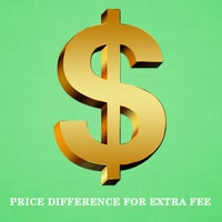 Price Difference For Extra Fee 1$
