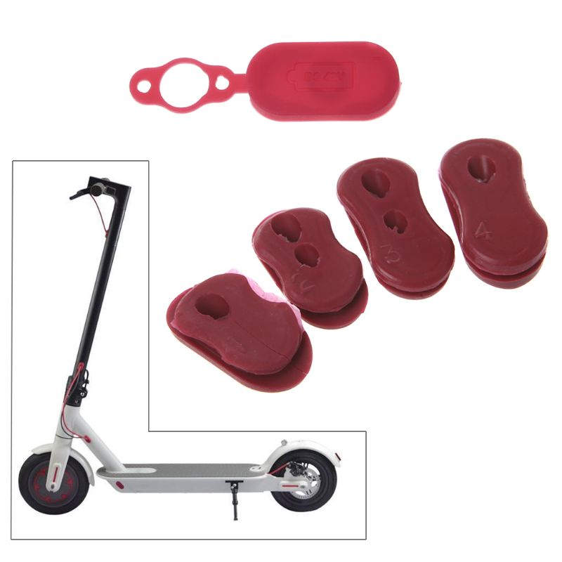 1 Set Electric Scooter Silicone Cap Protection For Xiaomi M365 Professional Replacement Protector Scooter Charger Port Dustproof