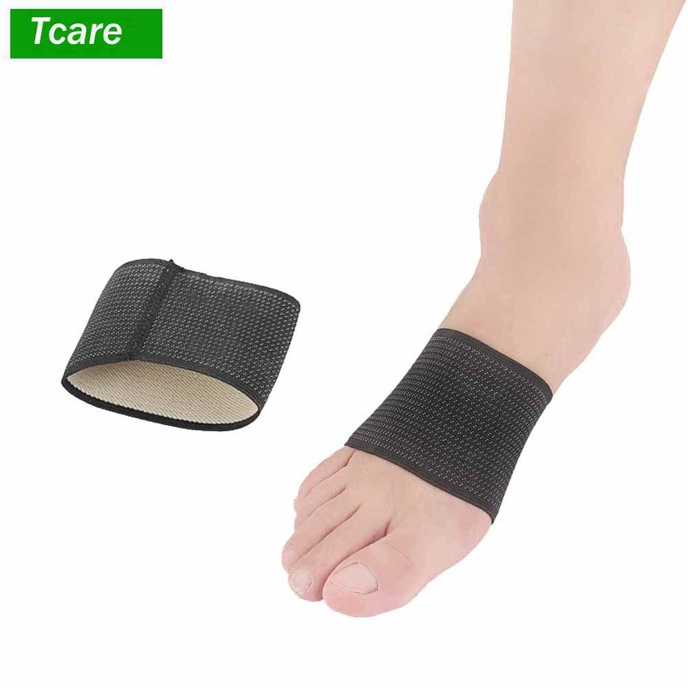 1 пара подошвенный фасциит поддержка свода-сжатие медные подтяжки/рукава для плоских ног пятки шпоры и Высокая АРКА облегчение боли
