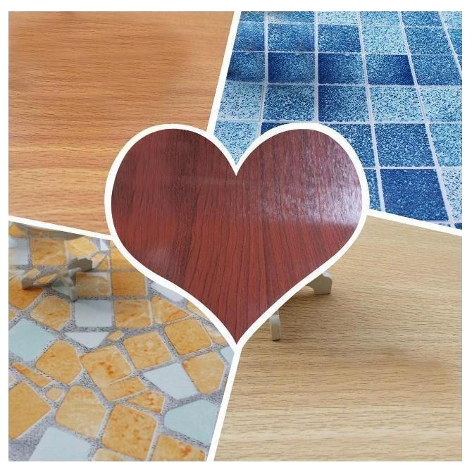 G05-X4625-3 children baby gift Toy 1:12 Dollhouse mini Furniture Miniature rement kitchen floor wallpaper 42*20cm 5pcs/set