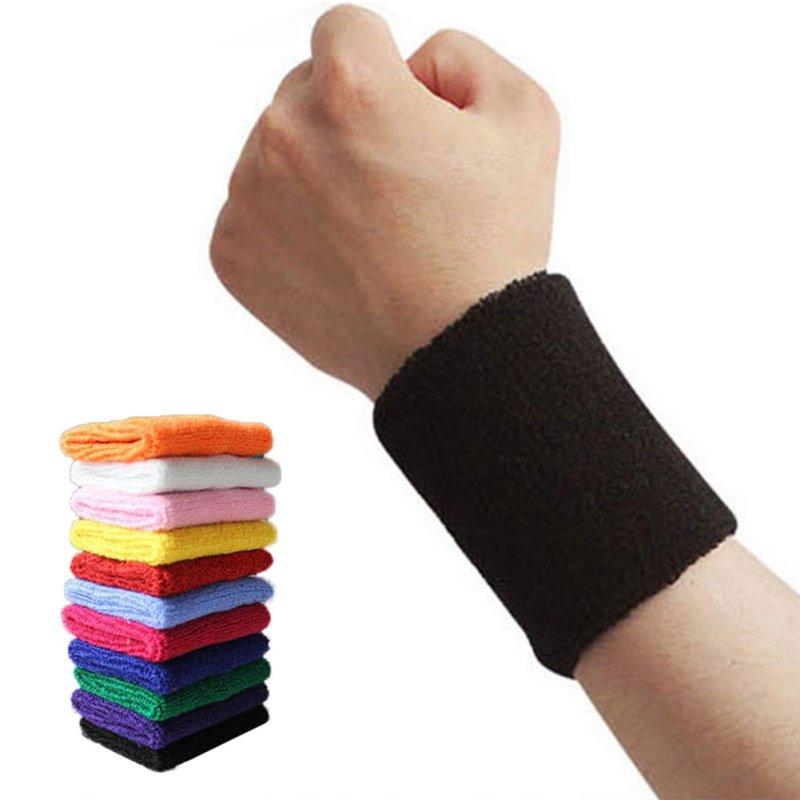 2018 deportivo gimnasio Sweatband Fitness correr al aire libre multifuncional mezcla de algodón AOLIKES muñequera