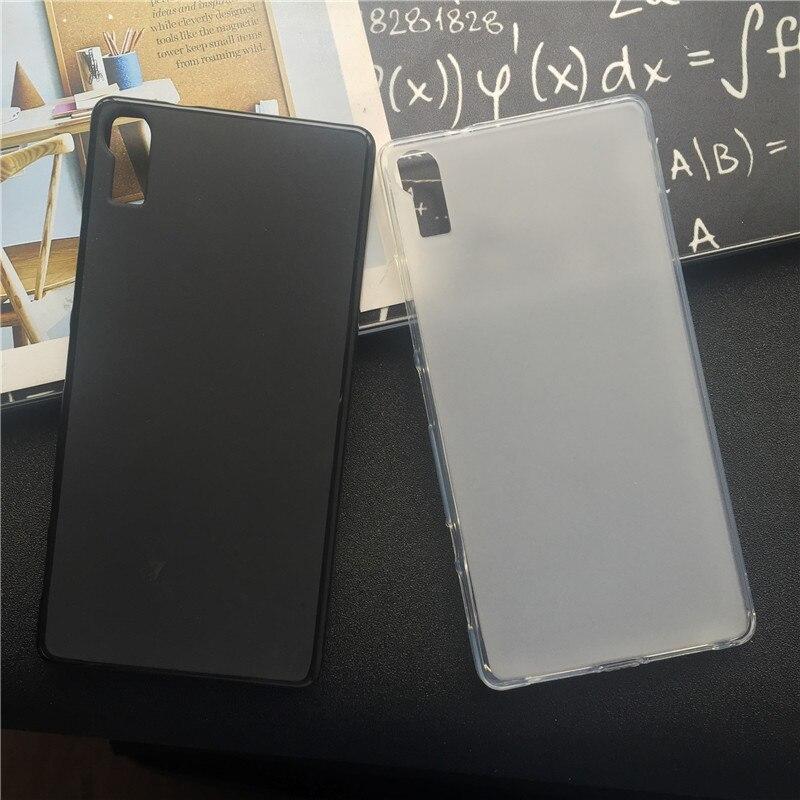 Fundas de cubierta trasera de silicona blanda Para Lenovo Vibe Shot Z90 Z90-7 Z90a40 Z90-3 TPU funda negra Para teléfono móvil