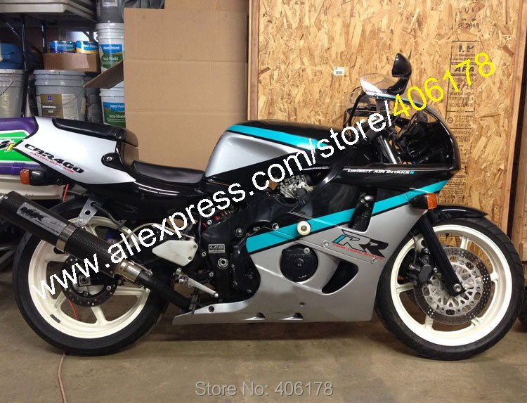 Para CBR400RR NC29 90-98 CBR400 NC 29 1990 1991 1992 1993 1994 1995 1996 1997 1998 400 CBR RR Kit de carenado de ABS