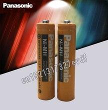 2 teile/los Original Panasonic AAA 1,2 V 630mAh Wiederaufladbare NiHM Batterie Lade mal oder 1200 mal