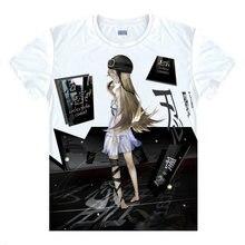 Camiseta Monogatari Story, camiseta Oshino Shinobu, lindas camisetas de mujer, ropa de Anime, lindas camisetas kawaii, geniales, sexis, para la playa, de Japón