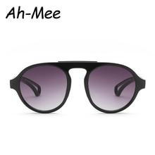 Fashion Oversized Oval Sunglasses Women Men Brand Designer Gradient Sun Glasses Female Retro Big Round Shades UV400 Eyewear