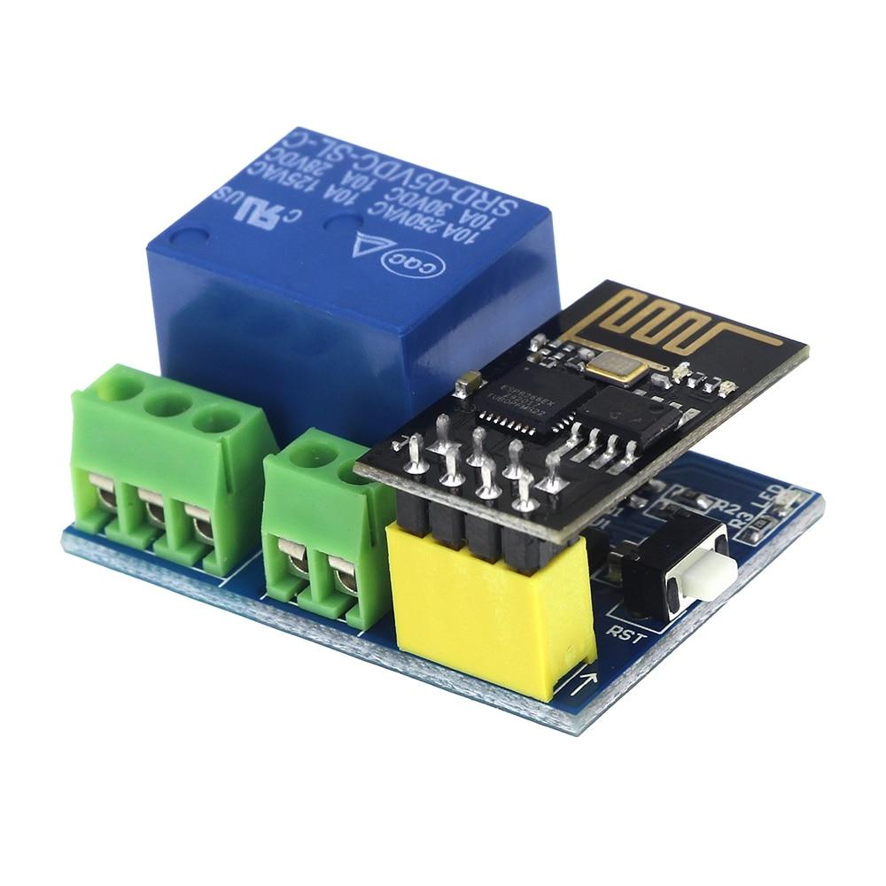 DC 5V ESP8266  WiFi Relay Module Things Smart Home Remote Control Switch Phone APP ESP-01 Wireless WIFI Module