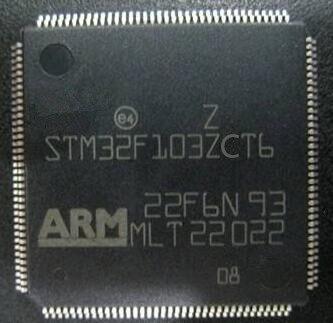 STM32F103ZCT6 STM32F103Z STM32F103 LQPF144 32-bits microchip