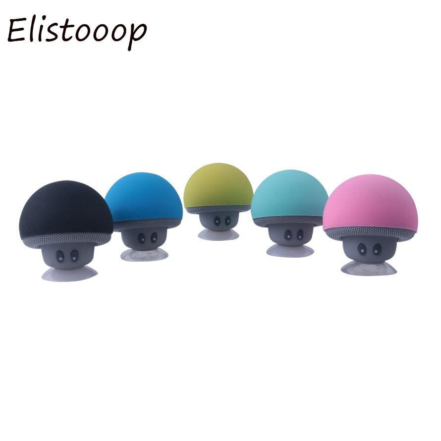 Мини-Колонка в форме гриба беспроводной Bluetooth 4,1 динамик MP3-плеер с микрофоном портативный стерео Blutooth для мобильный телефон
