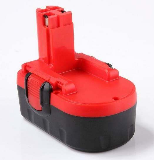 3300mAh para Bosch 18 V BAT025 batería recargable FLOUREON herramientas eléctricas Bateria para taladro GSB 18 VE-2, PSR 18VE, BAT026