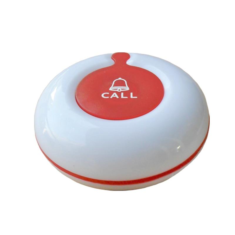 10pcs 433.92mhz Waterproof Wireless Service Calling System Restaurant Buzzer Table Bell Waiter Call button K-O1