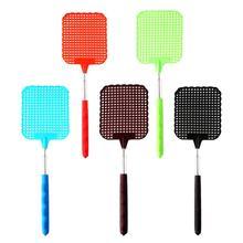 5 pçs plástico flexível extensível fly swatter evitar pragas mosquito inseto ferramentas acessórios plástico produtos de controle de pragas