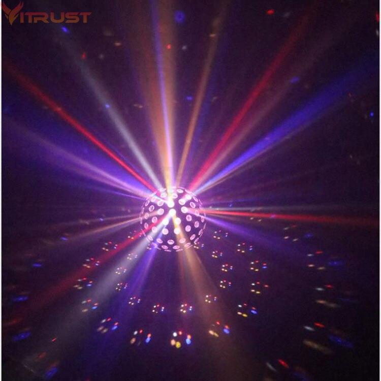 مرحلة أضواء برو DJ عرض حزب الإضاءة ديسكو بار عيد الميلاد RGB 9 الإضاءة اللون العارض الأضواء ماجيك الكرة ستروب تتحرك رئيس